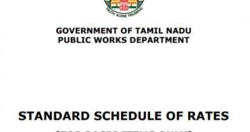Public Work Department Schedule of Rates 2021-2022.